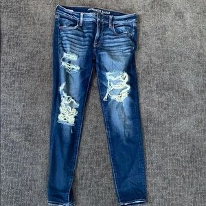 Skinny fit American Eagle Jeans size 8 short.